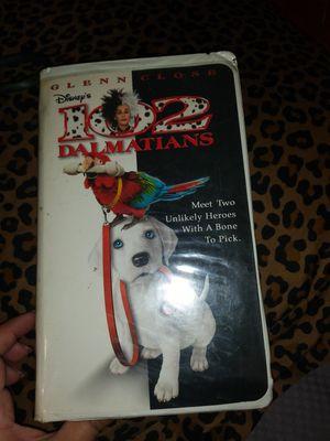 VHS movie 102 Dalmations Free for Sale in San Bernardino, CA