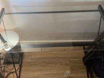 glass desk for Sale in Long Beach,  CA