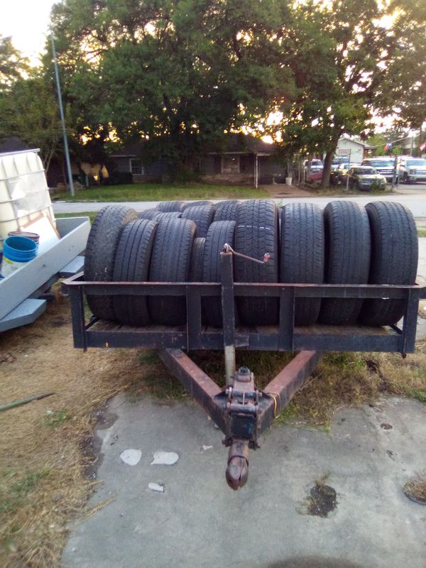 16ft utility trailer with tires