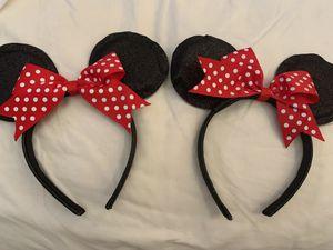 Minnie mouse headband/ears for Sale in Sacramento, CA