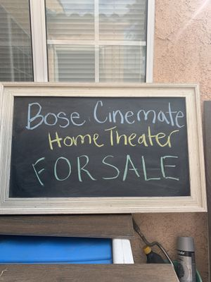 BOSE CINEMATE THEATER SYSTEM for Sale in South Gate, CA