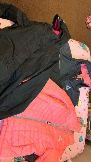 Girls 10/12 rain jackets for Sale in Claremont, CA