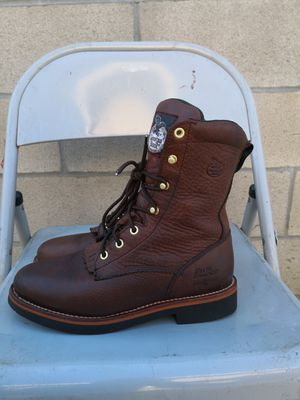 Georgia soft toe work boots size 9 for womens for Sale in Riverside, CA