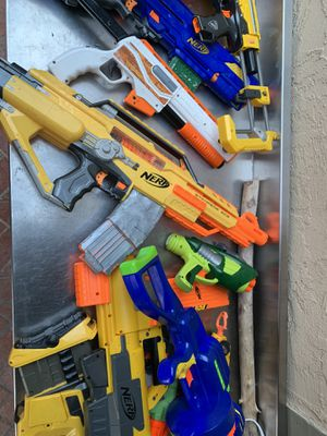 Nerf guns toys for Sale in Antioch, CA