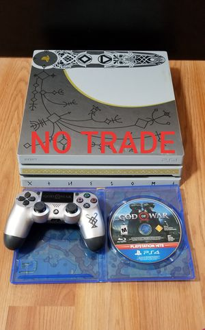 GOD OF WAR PS4 PRO BUNDLE, PRICE FIRM, NO TRADE, READ DESCRIPTION FOR OPTIONS for Sale in Garden Grove, CA