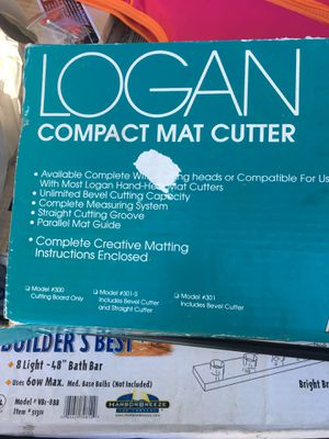 New in box compact mat cutter machine only $90 firm for Sale in Baltimore, MD