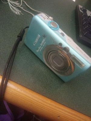 CANON DIGITAL CAMERA (TEAL) for Sale in San Diego, CA