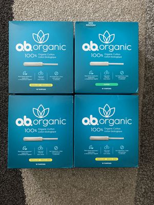 o.b. Organic Tampons for Sale in Modesto, CA