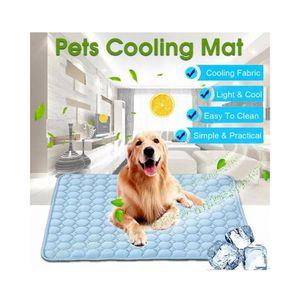 Pet Cooling Mat Non-Toxic Cool Pad Cooling Pet Bed for Summer Dog Cat Puppy for Sale in South El Monte, CA