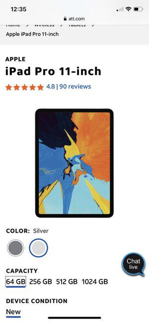 New iPad Pro 11 inches for Sale in Bristow, VA