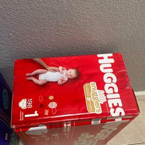 Huggies Pamper Size 1 for Sale in Phoenix, AZ