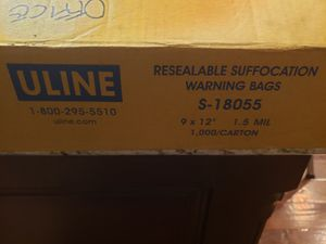 Resealable plastic bags for Sale in Oklahoma City, OK