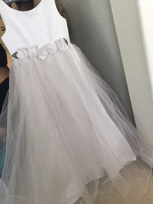 Flower girl dress or first communion for Sale in Modesto, CA