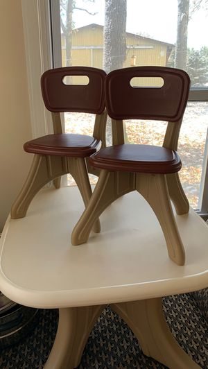 Kids step 2 table and chair for Sale in Lockport, IL