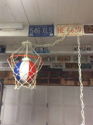 Basketball theme swag light for Sale in Woodinville, WA