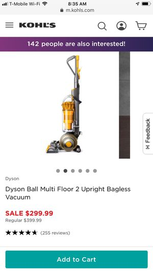 Dyson Ball Multi Floor 2 Upright Bagless Vacuum for Sale in Claymont, DE