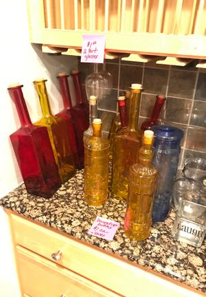 Glass bottles for Sale in Palatine, IL
