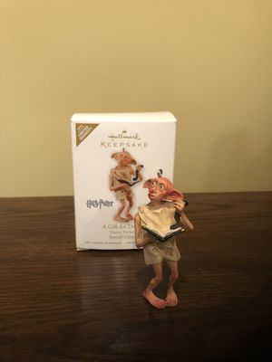 Harry Potter Hallmark Ornament- A Gift for Dobby for Sale in Sully Station, VA