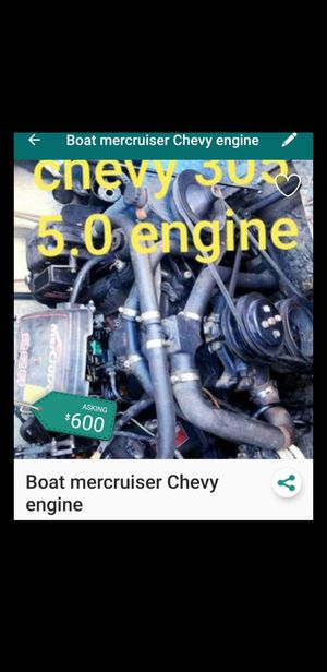 5.0 mercruiser v8 for Sale in Fontana, CA