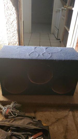 12 INCH SUB BOX FITS 3 for Sale in Phoenix, AZ