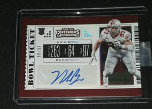 NICK BOSA CONTENDERS AUTO #D /99 for Sale in Turlock, CA