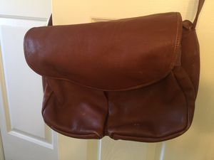 Messenger purse hand bag leather for Sale in Lake Alfred, FL