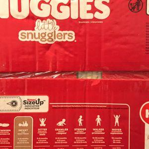 Luvs And Huggies Snugglers Diapers for Sale in Trenton, NJ