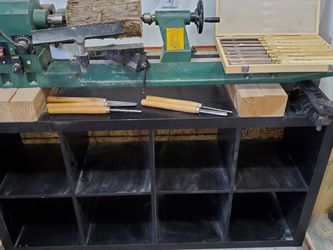 Wood Lathe With Tools And Stand for Sale in Nolensville,  TN