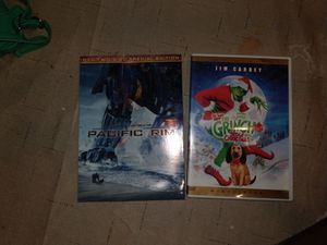 Pacific Rim special edition and the Grinch for Sale in Aurora, CO
