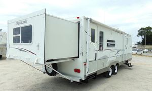 07 Trailer White Camper for Sale in Fort Worth, TX