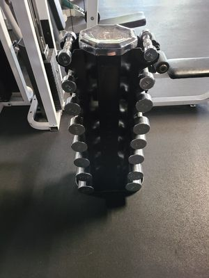 Used Hampton dumbbells and rack for Sale in Tempe, AZ