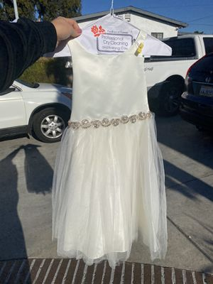 Beautiful Girl Dress baptism holiday wedding quince formal dress kid for Sale in West Covina, CA