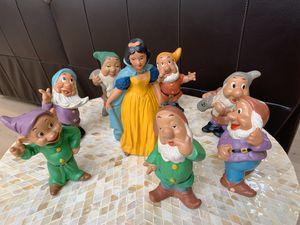 Vintage Snow White & Seven Dwarfs Figurine for Sale in Austin, TX