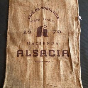 Cafe de Costa Rica Coffee Grain Gunnysack for Sale in Bellevue, WA