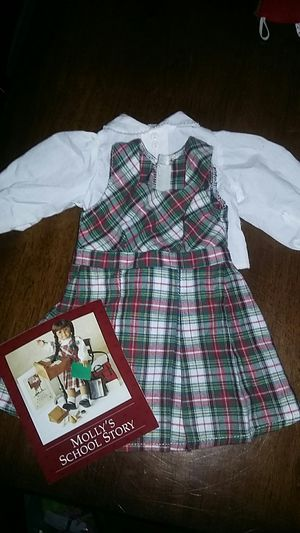American Girl Doll Molly School Outfit. for Sale in Costa Mesa, CA