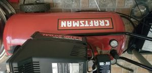 Craftsman 20 gallon air compressor (has air leak, but still can be used) for Sale in Lanham, MD