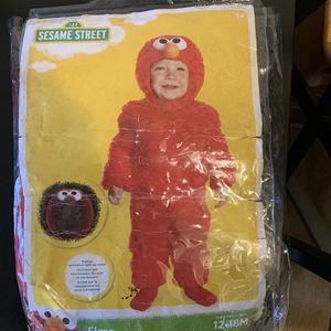 Infant Elmo Costume 12-18 Months for Sale in Lexington, NC