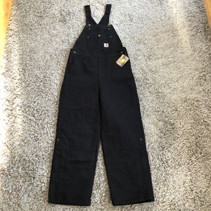 Big kid size 14 Carhartt Bib Overalls for Sale in Vancouver, WA