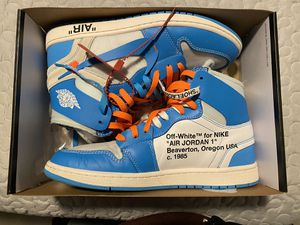 Off white air Jordan 1 UNC for Sale in Cedar Hill, TX