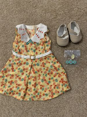 American Girl Kit Dress Barrette and Shoes for Sale in Napa, CA