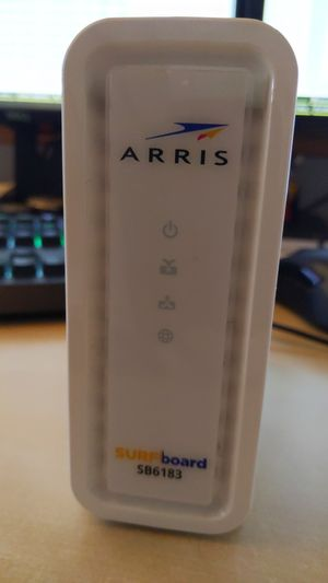 Arris SB6183 DOCSIS 3 Cable Modem (Cox, Comcast, Spectrum, Suddenlink) for Sale in Glendale, AZ