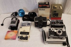 Vintage camera & lens lot. for Sale in Denver, CO