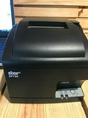 Star SP700 SP74L Ethernet Printer And Cord With One year warranty for Sale in Utica, MI