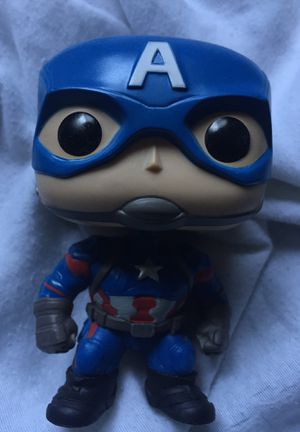 Captain America awesome funko bobble head pop for Sale in Clovis, CA