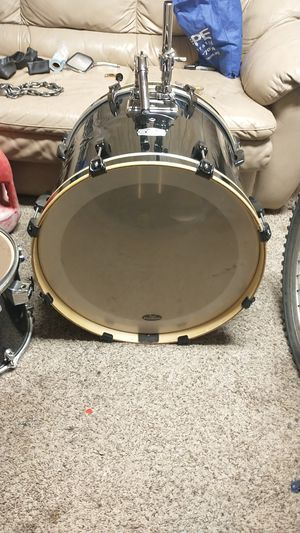 "PearlExport EXL Lacquer Bass Drum - 22"" x 18"" Black Smoke Lacquer for Sale in Sahuarita, AZ"