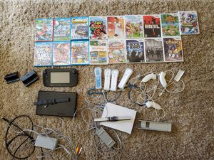 Nintendo Wii U AND Wii Bundle w/ Games (2 Consoles) for Sale in Land O Lakes, FL