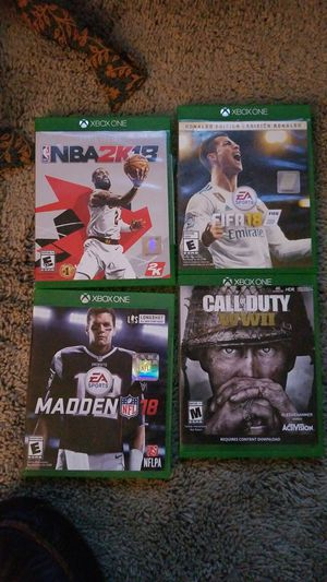 Xbox one games for Sale in Germantown, MD