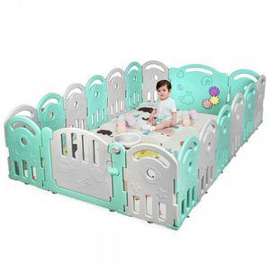 18-Panel Baby Playpen Corral Little Boy Fence for Sale in Pompano Beach, FL