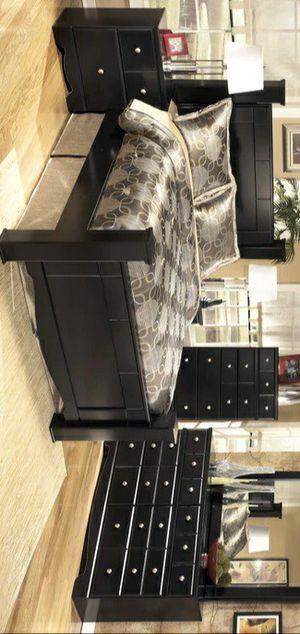 BEST OFFER BEDROOM SET ( Bed frame, dresser, nightstand and mirror ) 🚚SAME DAY DELIVERY /ın stock for Sale in Silver Spring, MD