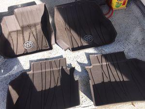 2017-2018 Buick LaCrosse OEM winter floor mats part# 84204786 for Sale in Johnston, RI